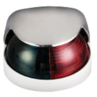 Navigation Light Polished Stainless Top Bio Colour Port