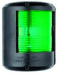 Navigation Light Utility 78 Green Starboard 112 Degree Black Surround 24 Volt