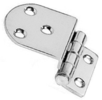 Stepped Hinge 16mm Step 40 x 37 + 22mm 2mm Thick Stainless Steel