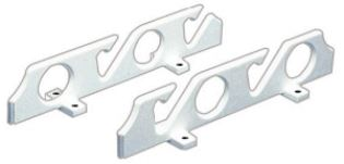 Rod Holder (Pair) Wall Mounting for 4 Fishing Rods