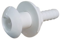 Skin Fitting 1'' BSP White Nylon Hose 1'' (25mm)