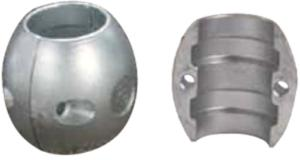Spherical Shaft Anode Zinc 75mm