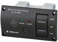 Bilge Alarm + 3 Way Switch + Fuse Holder 12 Volt