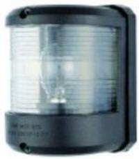 Navigation Light Utility 78 White 225 Degree Masthead Black Surround 24 Volt