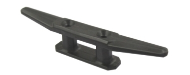 Boat Cleat 110mm Black Nylon Cleat