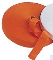 Webbing Orange 50mm Polypropylene Webbing