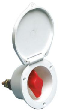 Battery Switch Isolator Flush Mount 280 Amps Continuous