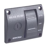 Bilge 3 Way Switch + Fuse Holder 24 Volt