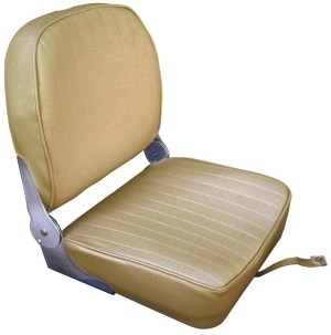 Boat Seat Sand Colour Folding Back