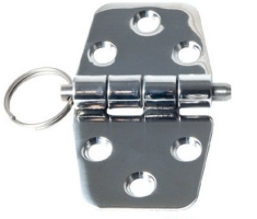 Butt Hinge Detachable 38.5 x 36 + 36mm 2mm Thick Stainless Steel