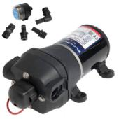 Fresh Water Pump, 4-diaphragm, 12,5 LPM. 12 Volts