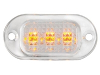 Boats Courtesy Light LED Yellow Watertight Polycarbonate