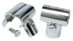 Boat Handrail 25mm 90 Deg Tee Joint Clamp Over Polished Stainless Steel