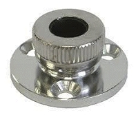 Deck Cable Gland Cable Dia 7-8mm Chrome Plated Brass
