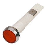 Red Low Profile Indicator 24 Volt