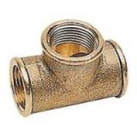 Tee Coupling 1.1/2'' B.S.P Female Brass