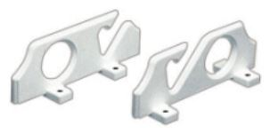 Rod Holder (Pair) Wall Mounting for 2 Fishing Rods