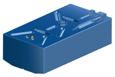 Boat Fuel Tank 198 Litre Cross-linked Polyethylene Petrol