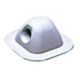 Inflatable Boat or Dinghy Fairlead Grey EPDM