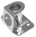 Stanchion Socket Deck Angle 7 Deg 316 Stainless Steel