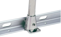 Stanchion Toe Rail Base Deck Angle 7 Deg 316 Stainless Steel