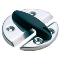 Turn Button Catch Plate Stainless Dia 60mm Plastic Knob