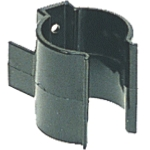 25 - 40mm Holding Clip Black Nylon
