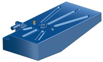 Boat Fuel Tank 135 Litre Cross-linked Polyethylene Petrol