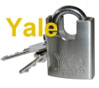 Marine Padlock 40mm Yale Polished Stainless Steel