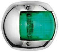 Navigation Light Compact 12 Green 112 Degree Stainless Surround