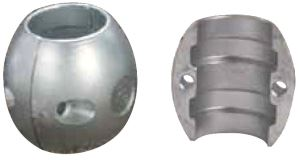 Spherical Shaft Anode Zinc 25mm