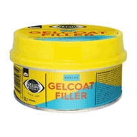 WHITE Gelcoat filler Two-part polyester resin