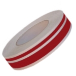 Waterline Boot Strip Red 2 Line Self Adhesive 34mm x 10m