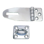 Hasp & Staple 67mm Polished Stainless Steel