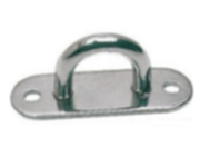 Pad Eye 10mm Bar 2 Hole Plate 316 Stainless Steel