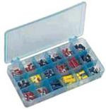 18 Compartments box of 175 assorted insulated terminals