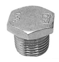 Hexagon Plug 1'' BSP Stainless Steel