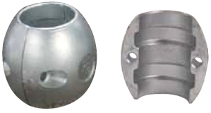 Spherical Shaft Anode Zinc 70mm