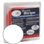 Waterline Boot Strip White Self Adhesive 15mm x 10m