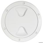 147mm White Boat Inspection Hatch Cover.