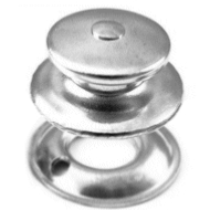 Canvas Fastener TOMAX Fastener Button with Clinch Nut (Female)
