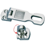 Hasp & Staple Cast 316 Polished Stainless Steel