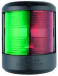 Navigation Light Utility 78 Red 112 Degree & Green 112 Deg Black Surround 24 Volt