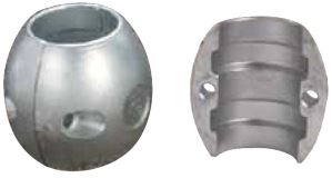 Spherical Shaft Anode Zinc 55mm