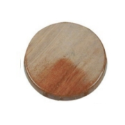 Steering Wheels Teak Central Cap