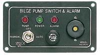 Bilge Alarm + 3 Way Switch + Fuse Holder 12 or 24 Volt
