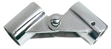 Boat Handrail 22mm Hinged Joint