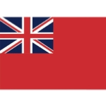 Flag Red Ensign Printed Polyester 600 x 500mm