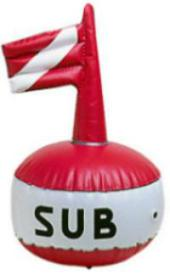 Scuba Diving Surface Marker Buoy Height 630mm