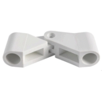 Boat Bimini 20mm Tube, Hinge Joint. White Nylon
